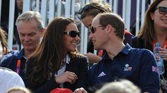 Olympics  London 2012   Awww William & Kate!