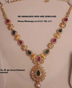 Gold Mangalsutra Designs, Gold Jewellery Design, India Jewelry, Kids Jewelry, Jewelry Sets, Gold Jewelry Simple, Gold Models, Gold Bangle Bracelet, Necklace Designs