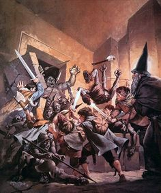 Bataille dans la Moria