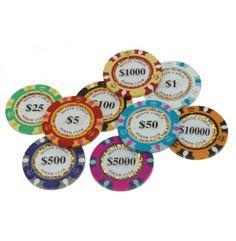 Ken jij de Monte Carlo Gold pokerchips al?   Deze luxe serie pokerchips is voorzien van een opvallend fonkelende gouden ring in het centrum van de chip. Deze serie is zeer geschikt voor het spelen van cash games of pokertoernooien. Beschikbare waarden van 1 tot en met 10000 dollar.