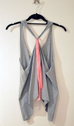 17 Interesting And Popular DIY Ideas, Oversized Cropped Tank or Vest DIY