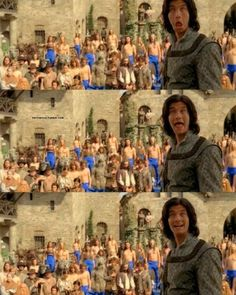 Narnia: Prince Caspian - Bloopers  :D // I think Ben Barnes considers himself to be the Orlando Bloom/Legolas of the series... lol ;)