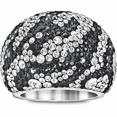 Swarovski Chic Zebra Ring is chic and sofisticated, a statement piece that will add a touch of sparkle to your outfit.
