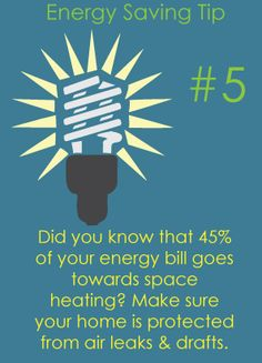Energy Saving Tip # 5 | Rempfer Construction, Inc.