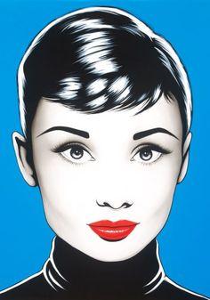 Antonio de Felipe Pop Art - Audrey Hepburn