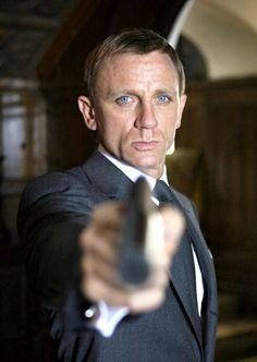 "Daniel Craig another great bond ""Murph"" ....  We love those steel blue eyes!!!!"