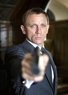 On the wrong end of Daniel Craig