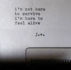 alive poem by ©judyelisa