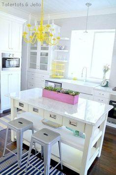 Sunny Spot #homedecor #kitchens