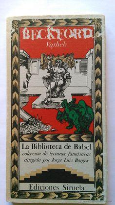 BECKFORD: Vathek. Siruela. La Biblioteca de Babel - Foto 1