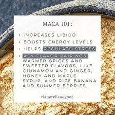 Why maca should be your new adaptogenic BFF