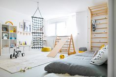 Anzeige// Unser Spielzimmer und 6 Dinge, die jeden Raum im Handumdrehen dazu mac… Advertisement // Our playroom and 6 things that make any room into it in a snap plus Ikea Hack for dots: ‹fräulein flora PHOTOGRAPHY Baby Bedroom, Bedroom Wall, Bedroom Decor, Game Room Kids, Toddler Playroom, Attic Playroom, Diy Zimmer, Kids Room Furniture, Ikea Furniture