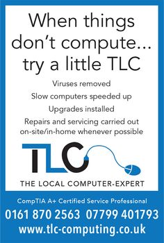 TLC are computer engineering experts who advertise in the local paper and other magazines. They needed something direct...but friendly. Something that silver surfers could identify with.