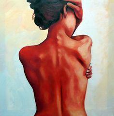 "Saatchi Online Artist: thomas saliot; Oil, Painting ""bareback"""