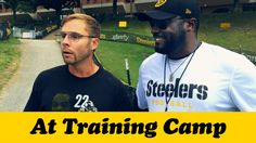 Dad paid an annual visit to Coach Mike Tomlin at Pittsburgh Steelers Training Camp.