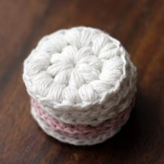Crochet Reusable Cotton Pads - Tutorial ❥ 4U // hf