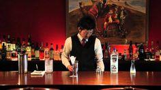 Bartender's magazine /  Takyuki Yoshida 【Gimlet】 - YouTube