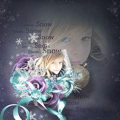 """Page réalisée avec le nouveau kit de Fanette Designs """"First snow"""" (RAK Caroline) : https://www.pickleberrypop.com/shop/manufacturers.php?manufacturerid=148"""