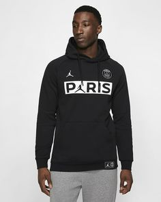 fae8fef3c6ee Nike Sportswear Paris Saint-Germain Sweat à capuche en tissu Fleece - Sweat  à capuche Homme Nike