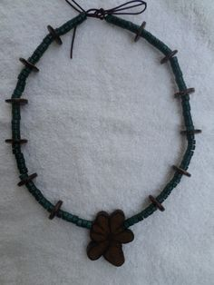Ayahuasca necklace by ecoreart on Etsy