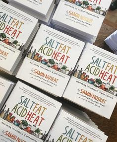 """183 Likes, 3 Comments - Saveur Magazine (@saveurmag) on Instagram: """"Author of Salt Fat Acid Heat @ciaosamin is in the Saveur offices for a Facebook Live Q&A to solve…"""""""