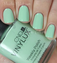 "CND Vinylux ""Mint Convertible"" - Peachy Polish"