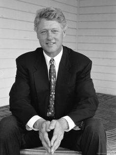 Portrait of President Bill Clinton Photographic Print by Alfred Eisenstaedt at Art.com