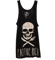 Iron Fist Eat The Rich A Line Tank