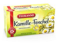 TEEKANNE - Kamille Fenchel - Natur-Kräutertees