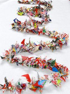 Scrappy Fabric Garland