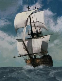 Painted Ship.