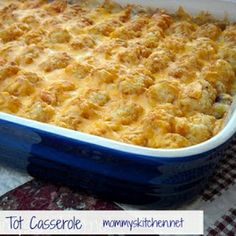 Tater Tot Casserole Weeknight Easy Recipe - ZipList