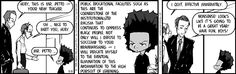 Boondocks character Huey Freeman on institutionalized racism in public schooling