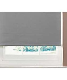 ColourMatch 2ft Blackout Roller Blind - Smoke Grey.