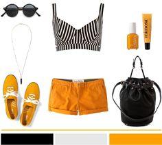 Orange + Stripes...