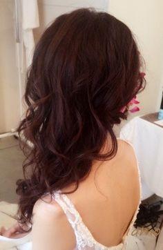 シニヨン&サイドダウン♡美人花嫁さまのフェミニンな2スタイル の画像 大人可愛いブライダルヘアメイク『tiamo』の結婚カタログ
