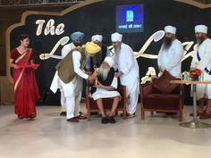 #KalgidharTrust #Award #BaruSahib  7 June '17- #LivingLegend Award to Baba Iqbal Singh ji.  Baba Iqbal Singh Ji, President of The Kalgidhar Trust received a Life time Achievement award from Punjab Power Minister Rana Gurjit Singh in an event hosted by Living India News Channel.