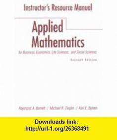 Instructors Resource Manual (9780130858863) Raymond A. Barnett, Michael R. Ziegler, Karl Byleen , ISBN-10: 0130858862  , ISBN-13: 978-0130858863 ,  , tutorials , pdf , ebook , torrent , downloads , rapidshare , filesonic , hotfile , megaupload , fileserve
