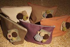 Bridal Party Cosmetic Bag Set