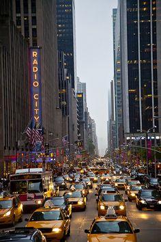 New York City at Radio City Music Hall