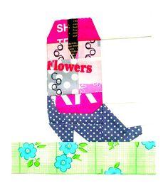 Cowboy boot block