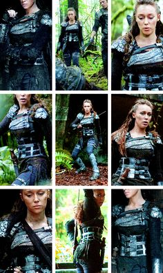 Commander Lexa Week: Favorite Outfits