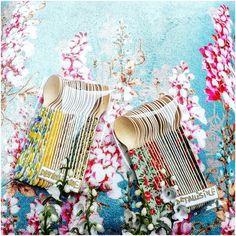 Paquetes de cucharitas de madera decoradas Pedidos y catálogo: detallisime@yahoo.es