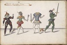 Entry of the Head-Cutters. Ballet des Fées des Forêts de Saint Germain, 1625. Costumes by Daniel Rabel.