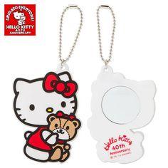 Hello Kitty & Tiny Chum Mirror Charm 40th Anniversary SANRIO JAPAN