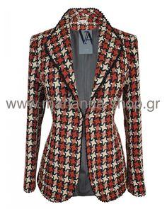 Σακάκι γυναικείο Blazers, Jackets, Shopping, Men, Fashion, Down Jackets, Moda, Fashion Styles, Blazer