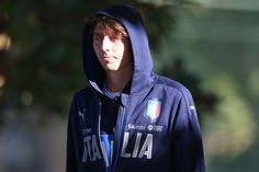Riccardo Montolivo of Italy during the training session at Coverciano on October 5, 2016 in Florence, Italy.