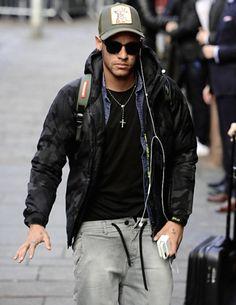 Neymar in Glasgow 22/11/2016