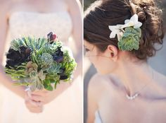 30 Beautiful Ways to Use Succulents in Weddings. I love succulents and there are some niftyideashere that I would like to come back to!