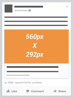 Facebook Link Thumbnail Image Dimensions [Reference] Mobile